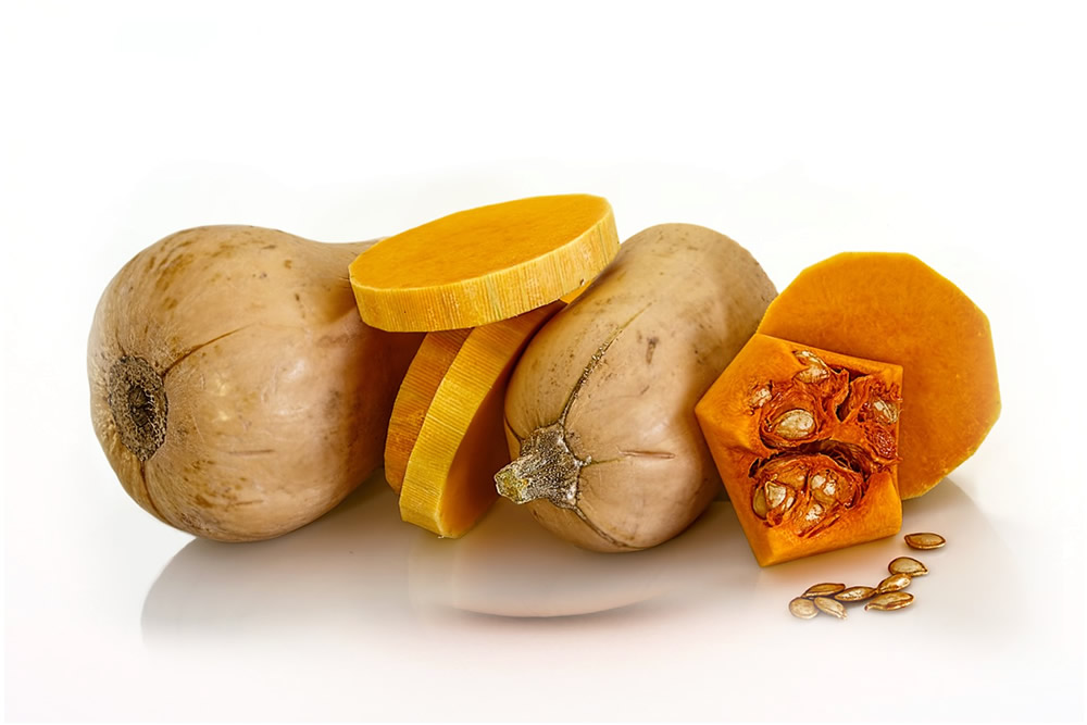 Frozen bio Butternut Squash in dices and julienne