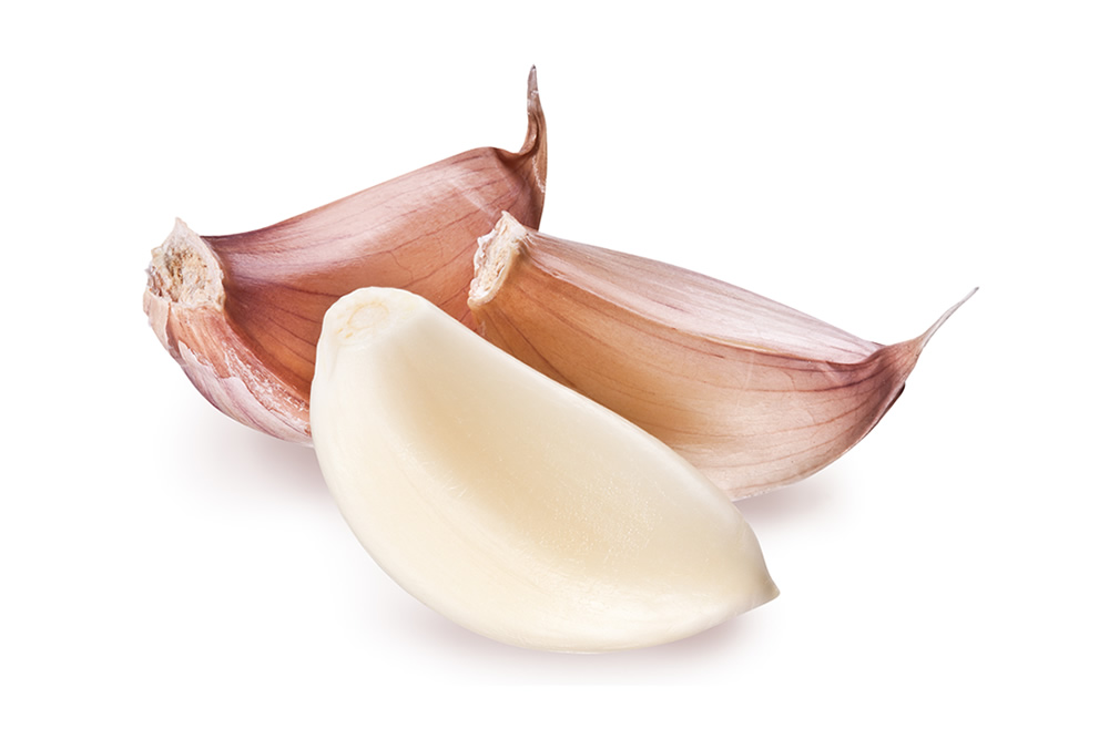 Frozen garlic whole or in dices