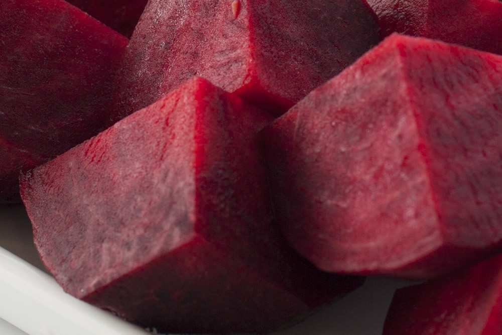 Beet in dices