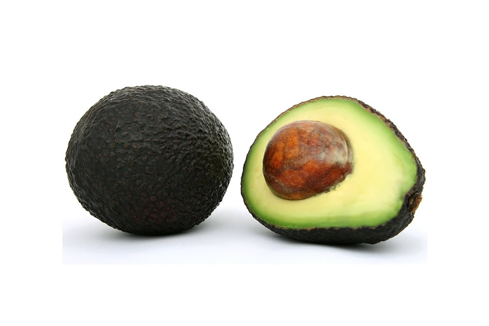 Frozen avocado in slices, dices, halves and puree
