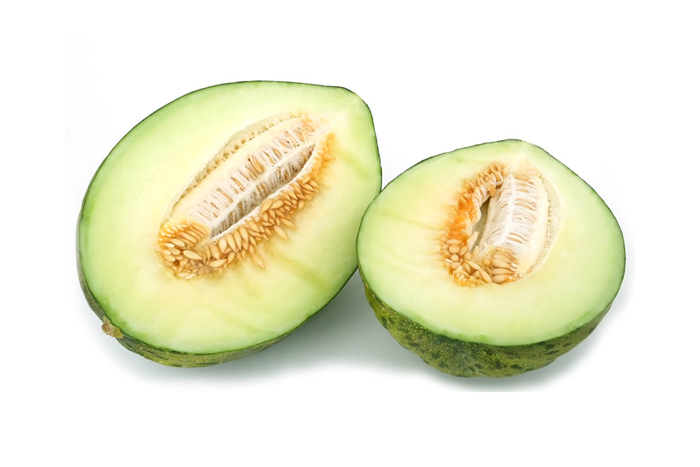 Melon in slices, chunks and balls