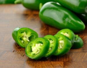 hot green pepper jalapeño